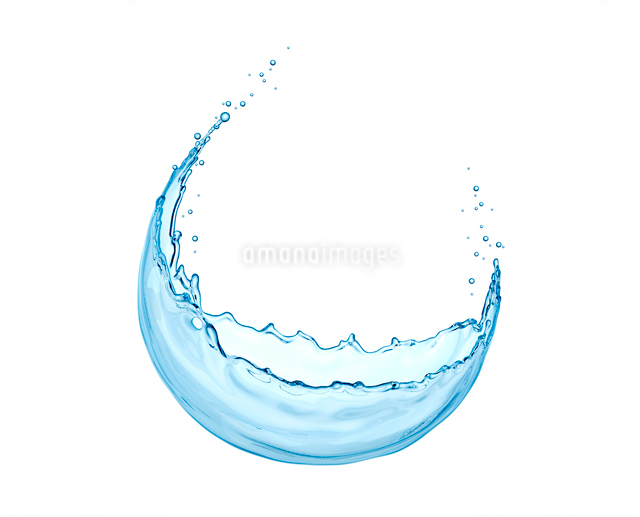 水のしぶきの写真素材 [FYI01409725]