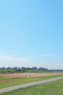 河川敷の写真素材 [FYI01409959]