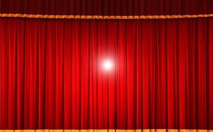ステージの幕の写真素材 [FYI01409983]