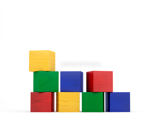 積み木の写真素材 [FYI01410203]