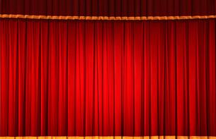 ステージの幕の写真素材 [FYI01410299]