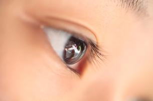 子供の眼の写真素材 [FYI01410426]