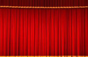 ステージの幕の写真素材 [FYI01410702]