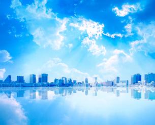 ビルと空の写真素材 [FYI01411106]