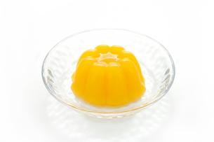 オレンジゼリーの写真素材 [FYI01412098]