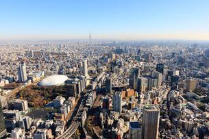 スカイツリーと東京ドームの写真素材 [FYI01412778]