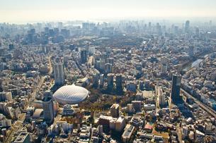 東京ドームと遠方のビル群の写真素材 [FYI01412876]