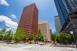東京駅駅前の写真素材 [FYI01413485]