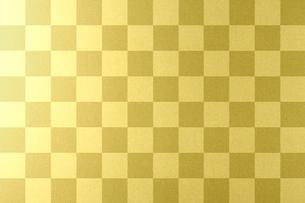 市松模様の金箔の写真素材 [FYI01413553]