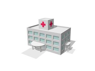 病院の写真素材 [FYI01413589]