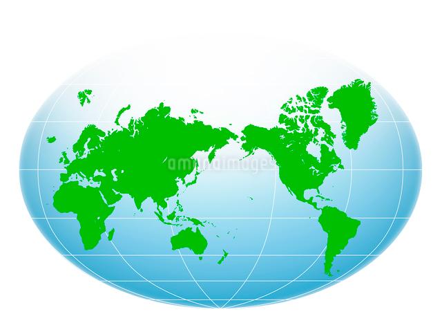世界地図のイラスト素材 [FYI01413798]