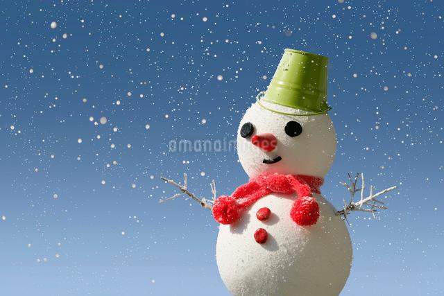 雪だるまと雪の写真素材 [FYI01413964]
