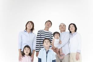 3世代家族の写真素材 [FYI01414095]