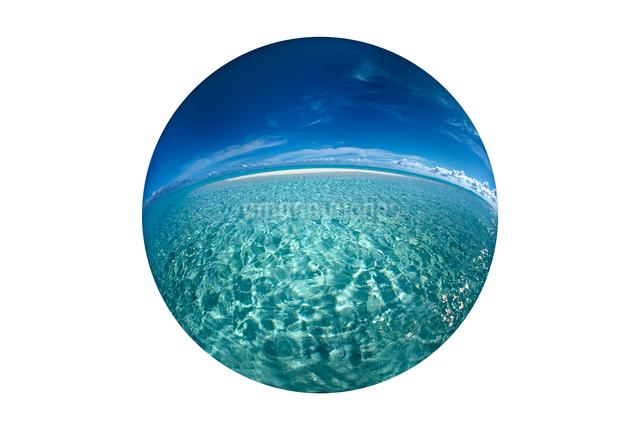 海と浮島の写真素材 [FYI01414113]