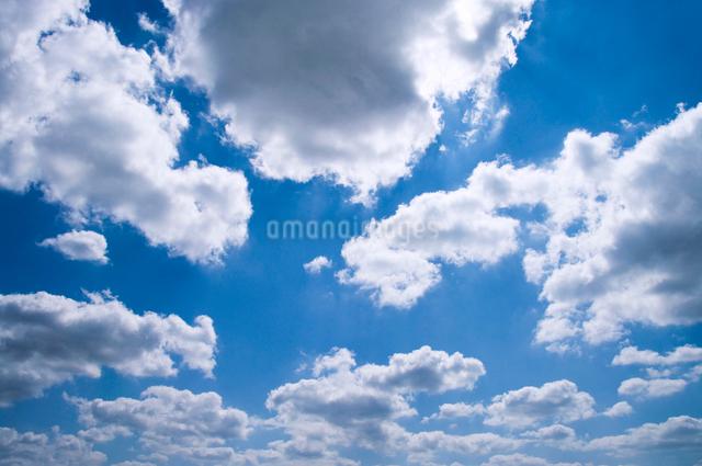 雲湧く空の写真素材 [FYI01415245]