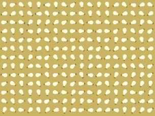 整列するたくさんの電球のイラスト素材 [FYI01415417]