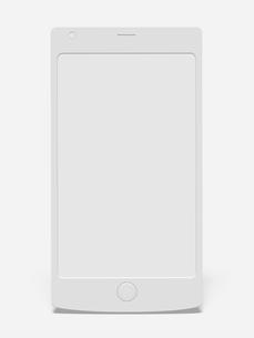 スマートフォンのモノクロイメージのイラスト素材 [FYI01415816]