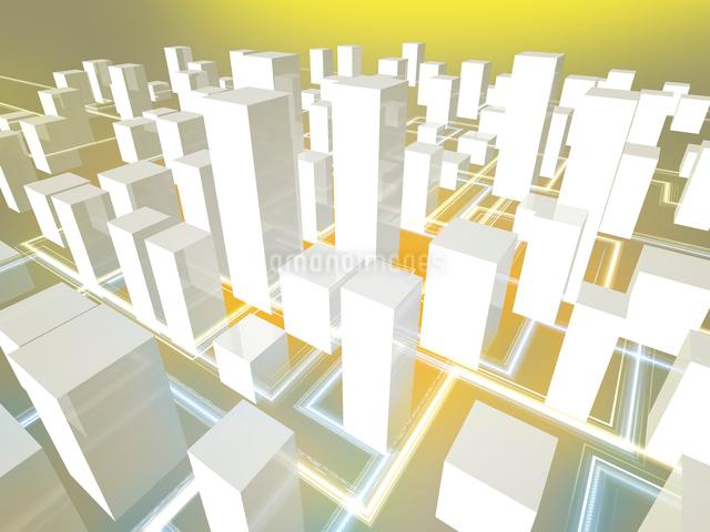 ネットワーク都市イメージのイラスト素材 [FYI01416056]