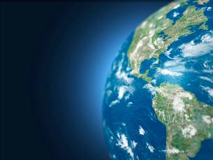 地球儀のアメリカ大陸のイラスト素材 [FYI01416300]
