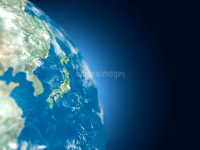 地球儀の日本のイラスト素材 [FYI01416302]