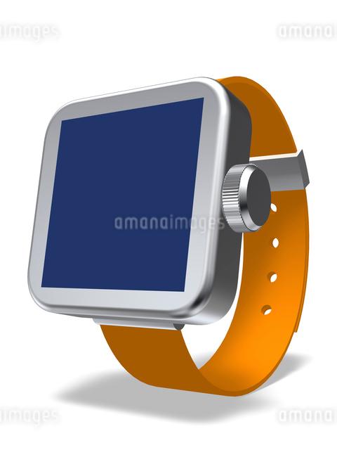 腕時計型端末のイラスト素材 [FYI01417248]
