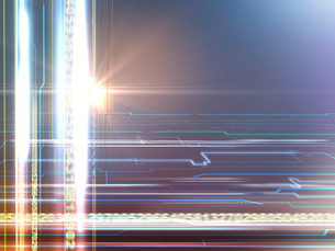 IT光芒背景のイラスト素材 [FYI01417260]