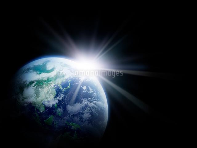 地球の写真素材 [FYI01417536]