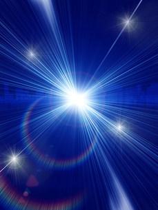 光と放射線のイラスト素材 [FYI01417613]