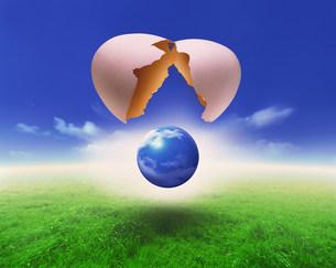 地球イメージのイラスト素材 [FYI01417721]