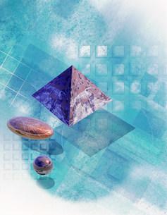 幾何学イメージのイラスト素材 [FYI01417760]