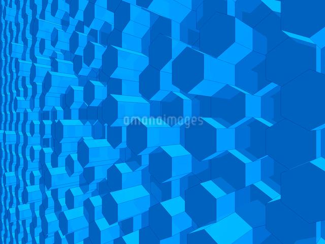 突起する蜂の巣状の壁のイラスト素材 [FYI01417807]