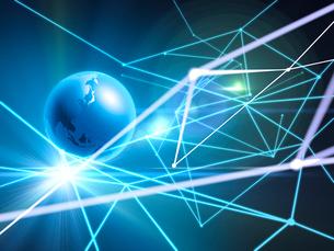 グローバルネットワークイメージのイラスト素材 [FYI01418160]