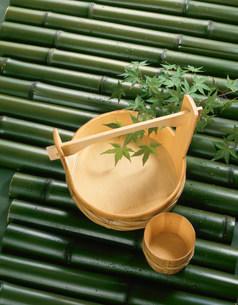 竹の器の写真素材 [FYI01418366]