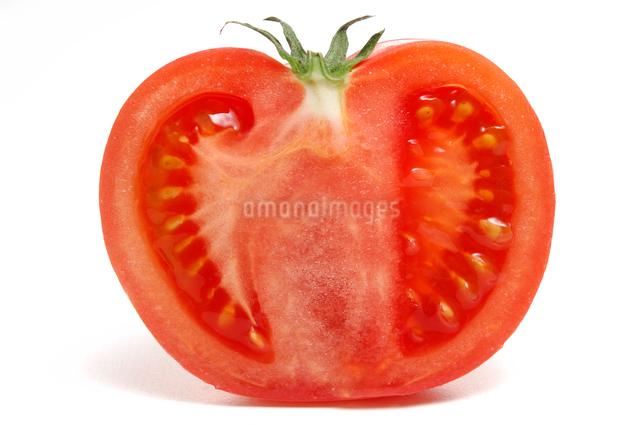 トマトの半切の写真素材 Fyi ストックフォトのamanaimages Plus