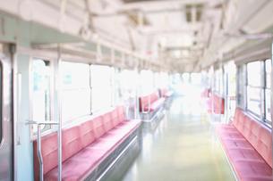 電車の座席の写真素材 [FYI01420131]