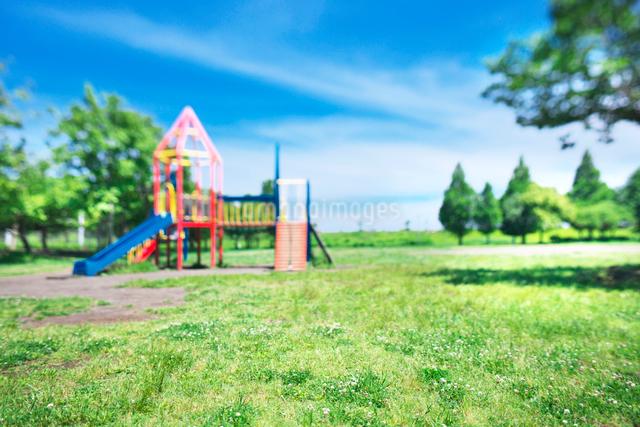 公園の遊具の写真素材 [FYI01421440]