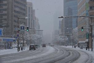 冬の柾谷小路の写真素材 [FYI01422192]