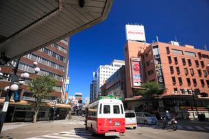 片町スクランブル交差点の写真素材 [FYI01422774]