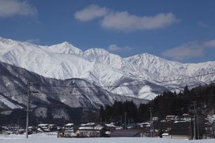 白馬連峰の写真素材 [FYI01422856]