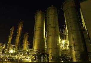 川崎の工場夜景の写真素材 [FYI01423080]