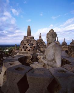 ボロブドゥール遺跡の写真素材 [FYI01423326]