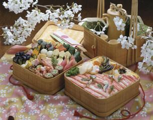 花見弁当の写真素材 [FYI01424732]