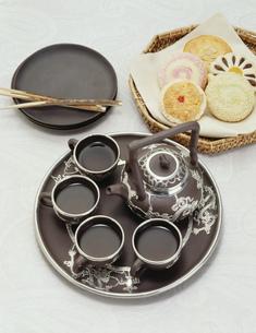 ウーロン茶の写真素材 [FYI01424898]