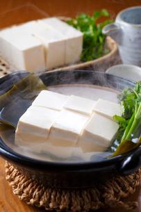 湯豆腐の写真素材 [FYI01424938]