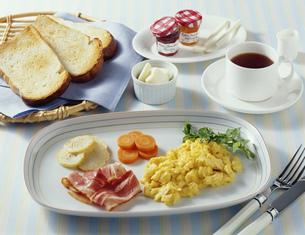イギリスの朝食の写真素材 [FYI01424939]