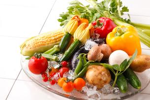 夏野菜の写真素材 [FYI01424961]