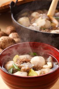 芋煮(里芋)の写真素材 [FYI01425162]