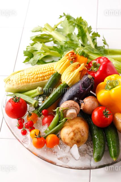 夏野菜の写真素材 [FYI01425175]