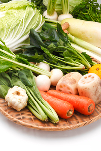 冬野菜の写真素材 [FYI01425182]