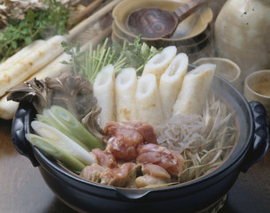 きりたんぽ鍋の写真素材 [FYI01425209]